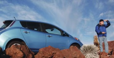 Nissan LEAF Volcano Trip Highlights Regenerative Braking