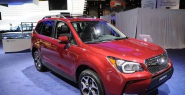 Over 500,000 Subarus Sold for First Time Ever in 2014