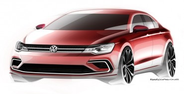 Volkswagen New Midsize Coupé Debuts in Beijing, Doesn't Beat Around Any Bushes
