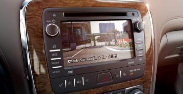 Buick's Rearview Camera to be Standard on All 2015 Models