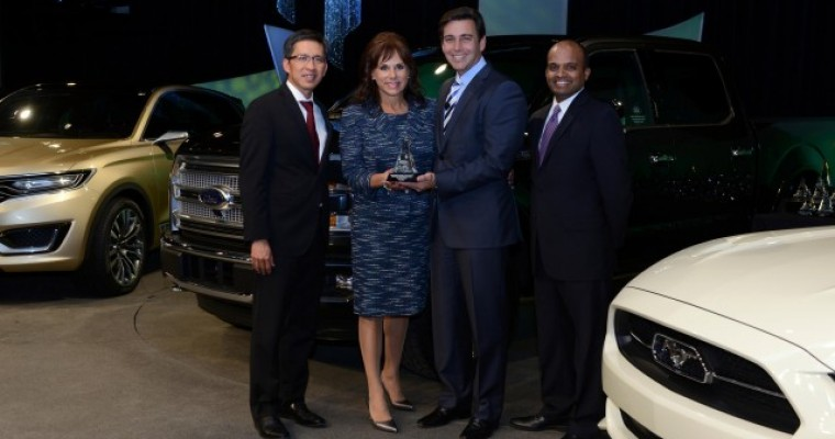Winners of Ford's 2013 World Excellence Awards Announced