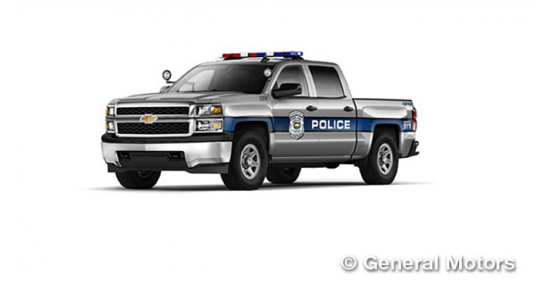 Silverado SSV Dons Sirens, Joins Police Lineup