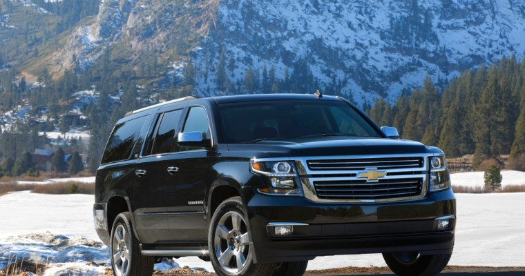 2015 Chevy Suburban Overview
