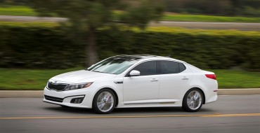 2015 Kia Optima Gets Updated Tech, Interior Refinements