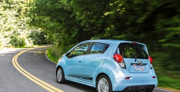GM and Google Ride-Sharing Program Stars 2015 Spark EV