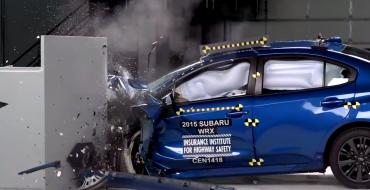 2015 Subaru WRX and WRX STI Earn TOP SAFETY PICK