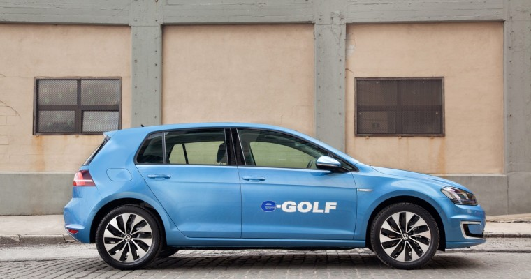 2015 VW e-Golf is Almost Here, Very Blue