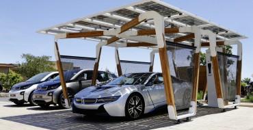 [Photos] Solar Carport Concept for BMW i3, i8