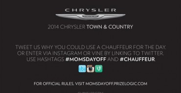 """""""Mom's Day Off"""" Could Land You a Chauffeur"""