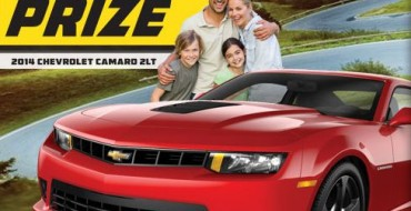 Win a Camaro in Land O'Frost 2014 Drive It Home Sweepstakes
