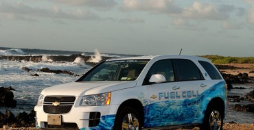 Chevy Equinox Fuel Cell Fleet Reaches Whopping 3M Miles