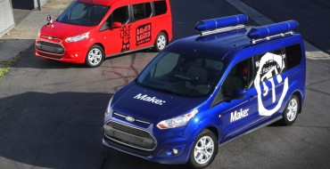 Ford and MAKE Magazine Create Custom Transit Connect Wagons for Make Faire