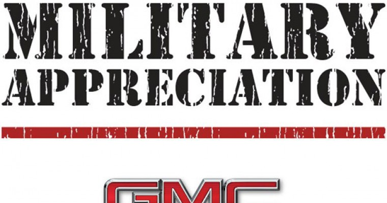 GMC Offering Discounts for Military Personnel through June 30th