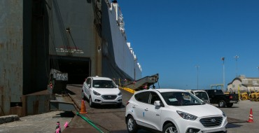 Hyundai Tucson Fuel Cell Vehicles Arrive in California