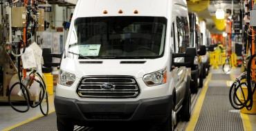 Ford Kansas City Assembly Plant Kicks Off Transit Van Production