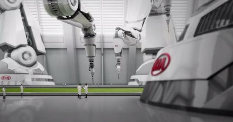 Kia 2014 FIFA World Cup Brazil Commercial Shows 'Assembly' Process