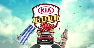 'Kia's Road to Rio' Generates Buzz for FIFA World Cup Brazil