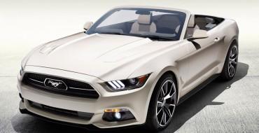2015 Mustang 50 Years Convertible to Be Raffled at Woodward
