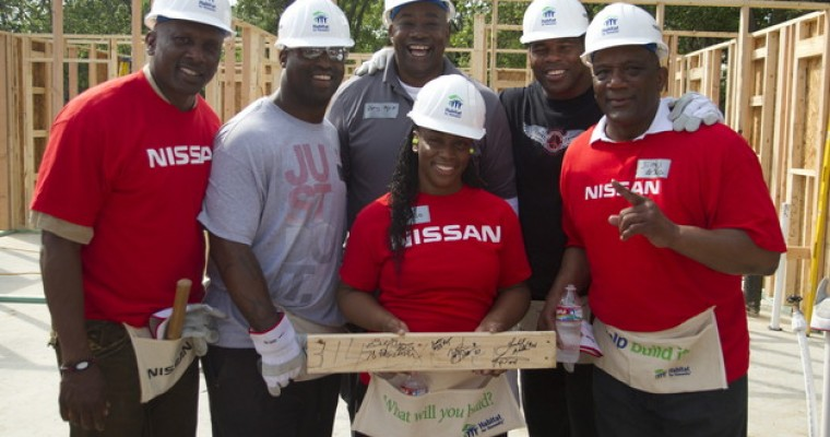 Heisman Trust and Nissan Habitat for Humanity Collaboration Provides Homes for Families