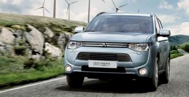 33,000 Outlander Plug-in Hybrids Have Sold Worldwide
