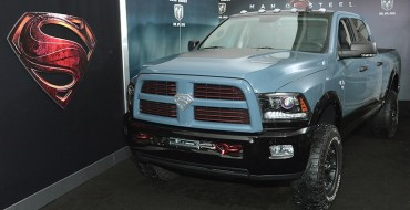 Superman Ram Power Wagon Goes Up for Auction, Benefits Charity