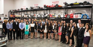 Giving Back: Toyota Awards Students with Scholarship Funds