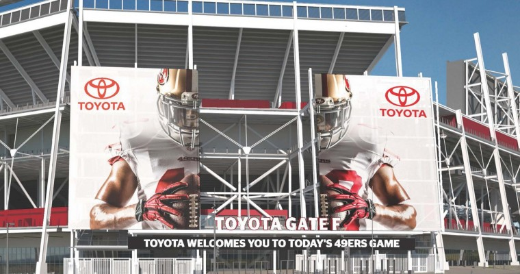 Toyota: Exclusive Automotive Partner of the San Francisco 49ers