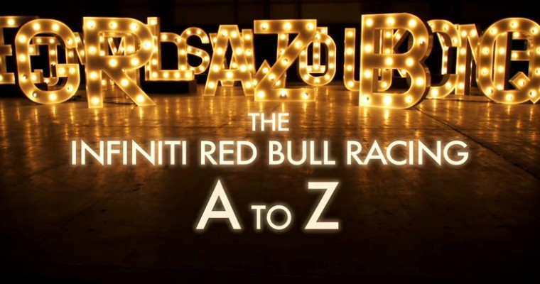 """Infiniti Red Bull Racing Launches """"A to Z of Formula One"""" Mini Series"""