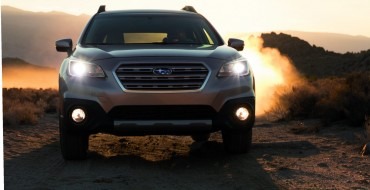 Subaru Announces 2015 Outback Pricing