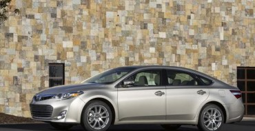 2015 Toyota Avalon Pricing Announced