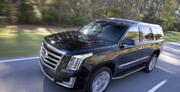 2015.5 Cadillac Escalade to Get 360-Degree Camera and New Transmission