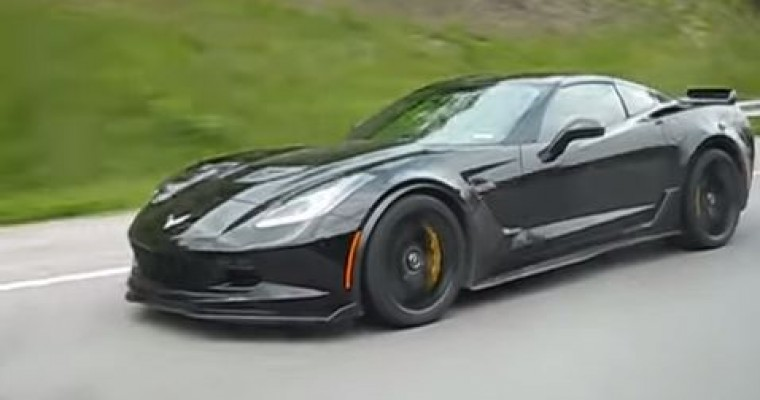 Spotted: 2015 Corvette Z06 on the Highway