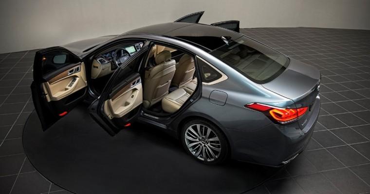 2015 Hyundai Genesis Overview