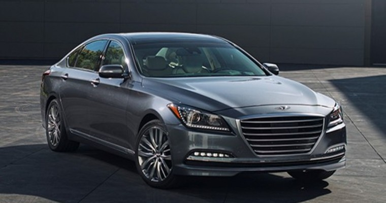 IIHS Names 2015 Hyundai Genesis Top Safety Pick +