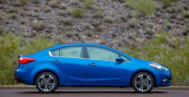 2015 Kia Forte Earns Five-Star Safety Rating from NHTSA