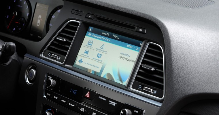 2015 Sonata Blue Link Is Powered by Google