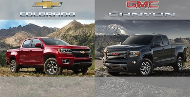 2015 GMC Canyon, Chevy Colorado Horsepower Top Segment