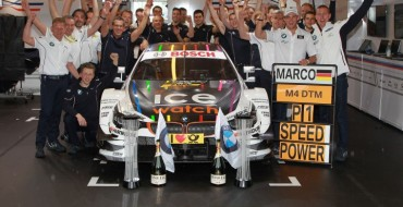 BMW Races to 2nd Victory at DTM Budapest