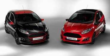 Ford Fiesta Zetec S Red and Black Editions Revealed