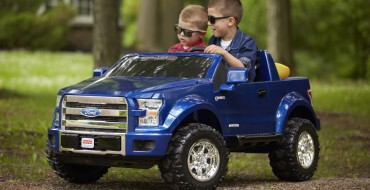 F-150 PowerWheels Wants to Make Your Kids Heroes