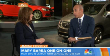 News: Matt Lauer Asks Mary Barra Stupid Questions