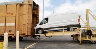 Transit Railcars Make Shipping High Roof Vans Easy