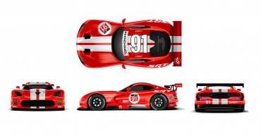New Dodge Viper SRT GTS-R Livery to Debut This Month