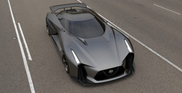 NISSAN CONCEPT 2020 Vision Gran Turismo Looks Like a Batmobile