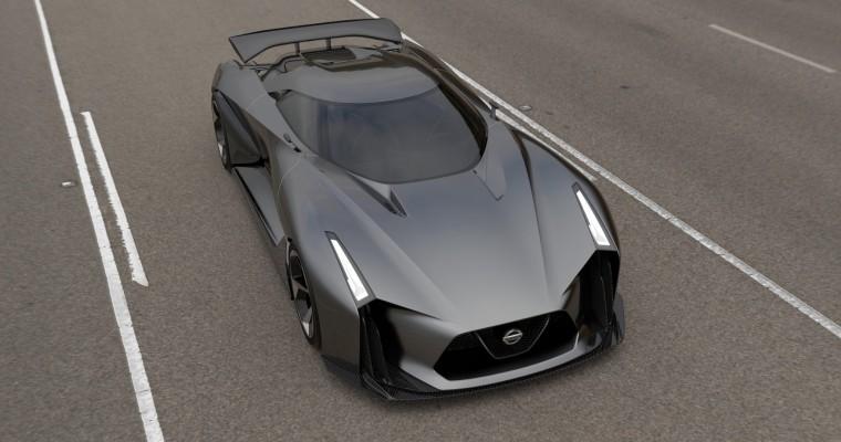 NISSAN CONCEPT 2020 Vision Gran Turismo Looks Like a Batmobile