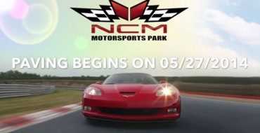 National Corvette Museum Motorsports Park Begins Paving