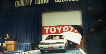 Revisiting the First Ever Car Produced at Toyota's Georgetown, KY Plant