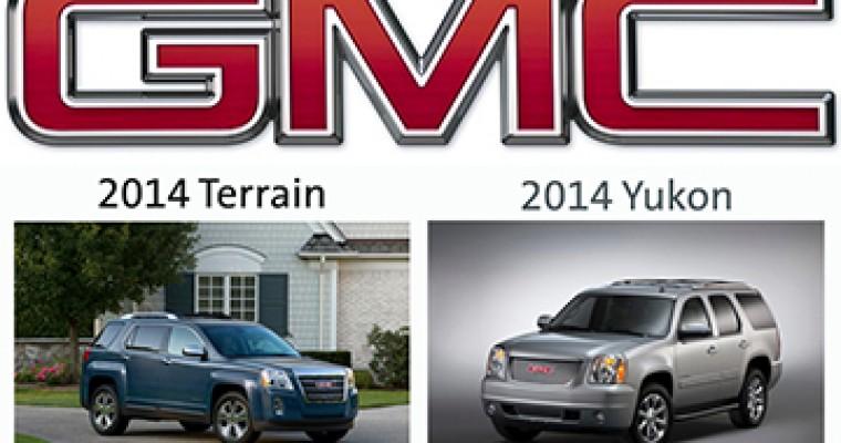 Yukon and Terrain Earn Initial Quality Awards