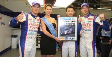 Toyota Takes Pole Position for 24 Hours of Le Mans