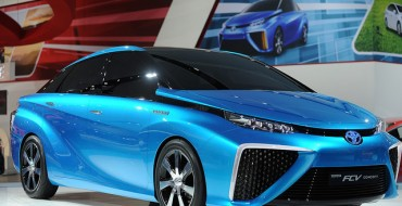 Toyota Hydrogen Fuel-Cell Vehicles are the Future